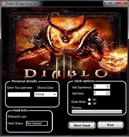 diablo 3 hack menu PS4, PC and Xbox