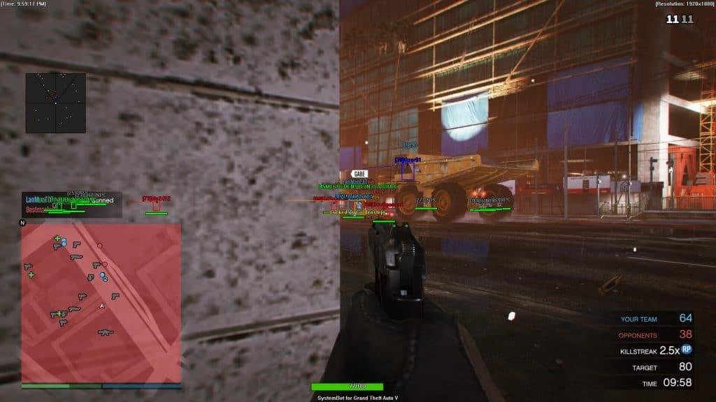 GTA 5 Online mod menu wallhack ESP aimbot