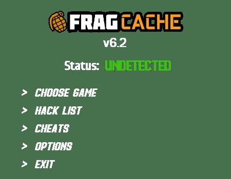 FragCache trainer mod menu cheat